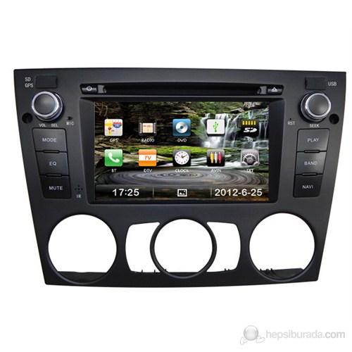 """Navimex BMW E90 MANUEL NAV9910HD 6,2"""" Dokunmatik HD Ekranlı TV'li-Navigasyonlu Multimedya sistem"""