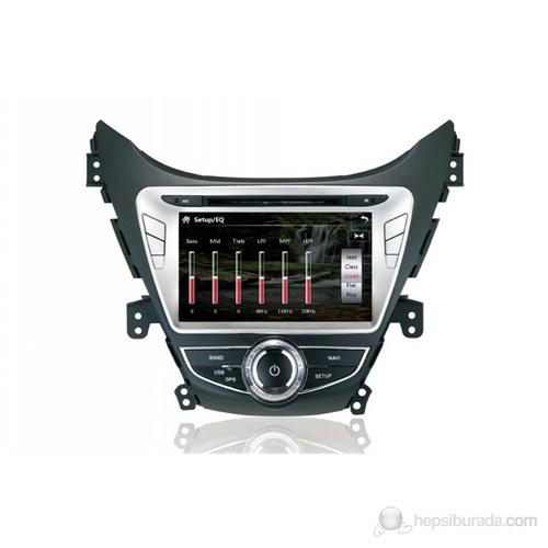 "Navimex HYUNDAI ELANTRA NAV9920HD 7"" Dokunmatik HD Ekranlı TV'li-Navigasyonlu Multimedya sistem"
