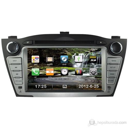"Navimex HYUNDAI IX35 NAV9922HD 7"" Dokunmatik HD Ekranlı TV'li-Navigasyonlu Multimedya sistem"