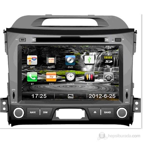 "Navimex KIA SPORTAGE NAV9947HD 7"" Dokunmatik HD Ekranlı TV'li-Navigasyonlu Multimedya sistem"