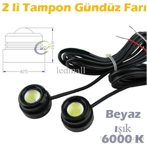 Z tech High Power Tampon Gündüz Lamba Seti