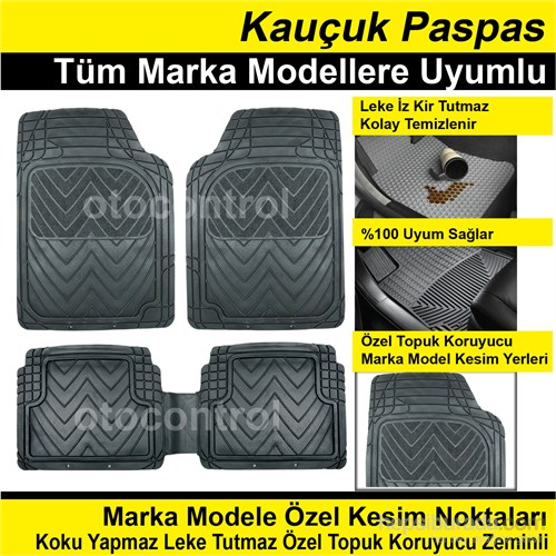 Mercedes C W204 2012 Model Kauçuk Paspas 40214