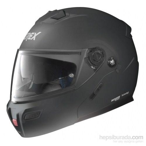 Grex G91 Çeneden Açılır Vizörlü Kask Mat Siyah