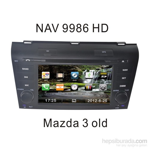 Navimex Mazda 3 Old - Nav 9986 Hd Navigasyonlu Multimedya Sistemi