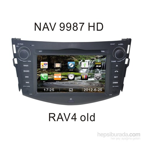 Navimex Toyota Rav4 Old - Nav 9987 Hd Navigasyonlu Multimedya Sistemi