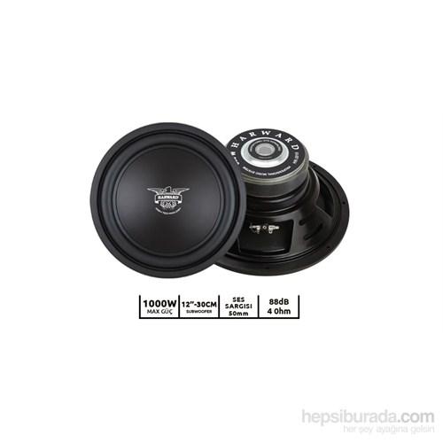 Harward HR-3010 1000W-12''-30cm Oto Subwoofer