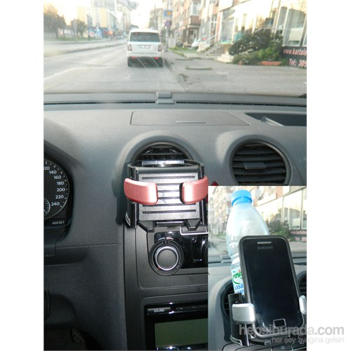 Drink Holder Bardaklık + Telefonluk (Kırmızı)