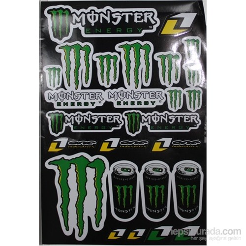 Tex 661 Monster Stiker Büyük