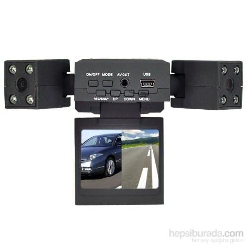 Cyber Araç içi Çift Kameralı Kayıt Cihazı An-4594