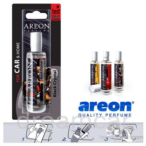 Areon Original Black Crystal Konsantre Sprey Koku 35 ml. Made in EU