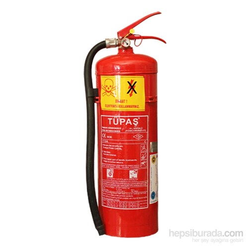 Tüpaş 6 Litre Köpüklü (Foam) Yangın Söndürme Cihazı 4 YIL GARANTİLİ