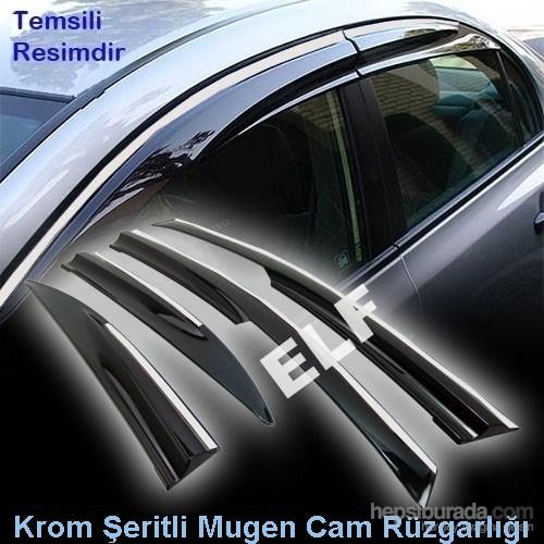 Z tech Peugeot 301 Mugen Cam Rüzgarlığı (Krom Şeritli)