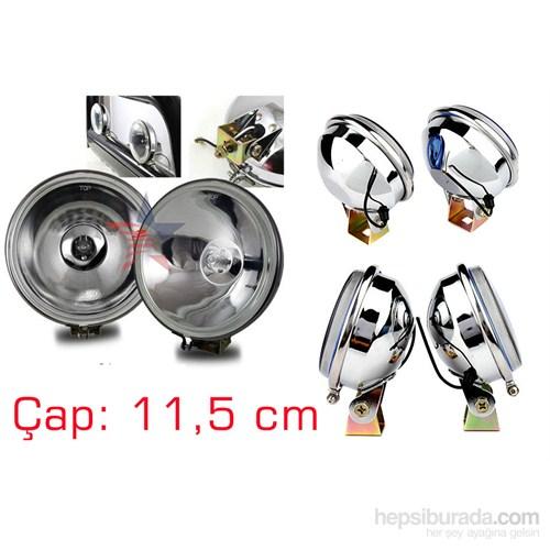 ModaCar X-LARGE 11,5 CM Nikelaj Arka Yüzey Sis Lambası SAĞ/SOL 498804