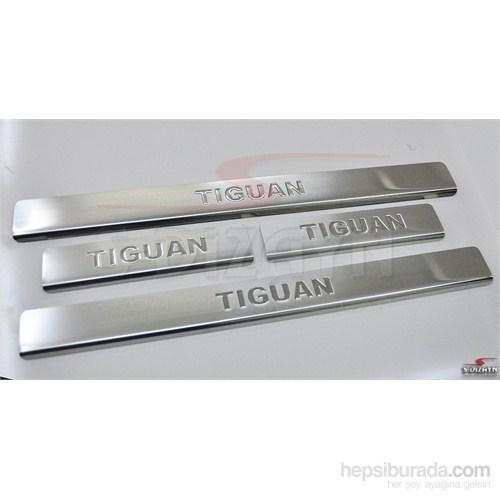 S-Dizayn Vw Tiguan 2007> Model Ve Üzeri Kapı Eşiği 4 Prç. Krom P.Çelik