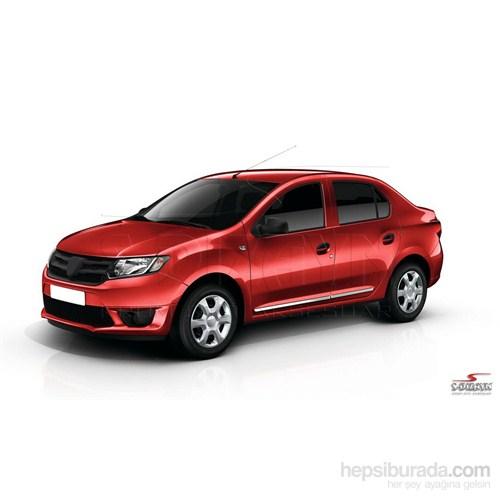 S-Dizayn Renault Symbol 2013 Üzeri Kapı Koruma Çıtası Krom P.Çelik + Abs Plastik 8 Prç.