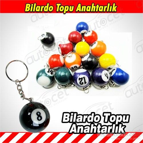 AutoCet Bilardo Topu Anahtarlık 3481a