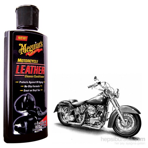 Meguiar's LEATHER MOTORCYCLE Deri Temizleme ve Koruma Losyonu 8520306