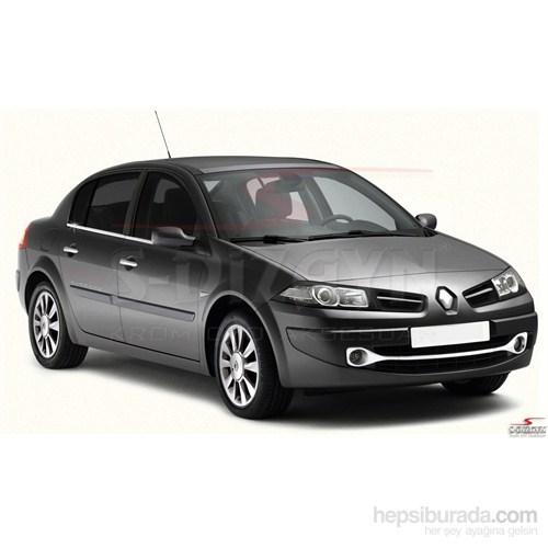 S-Dizayn Renault Megane-II Cam Çıtası 4 Prç. P.Çelik SEDAN (2004-2010)