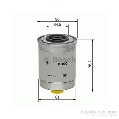Bosch - Yakıt Filtresi (Ford Transıt T15 2.5 Dızel) - Bsc 0 986 Tf0 400