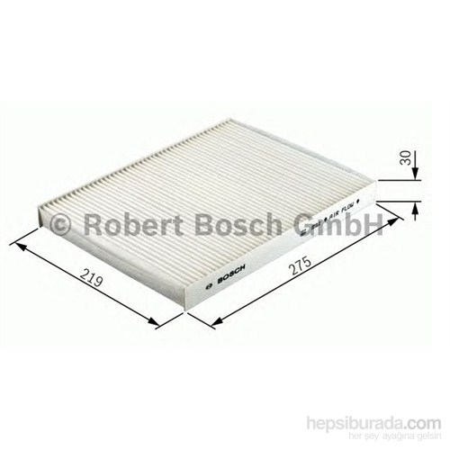 Bosch - Polen Filtresi Aktif Karbon ( Vw T5 - Touareg - Audı Q7 ) - Bsc 1 987 432 431