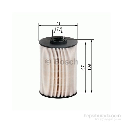 Bosch - Yakıt Filtresi (Volvo V70 Iı Kombi ) - Bsc F 026 402 005