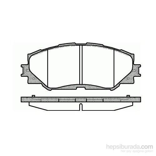 Bosch - Fren Balatası Ön Corolla 1.6 1.8 Vvtı 08>Aurıs 1.4 1.6 Vvtı 07>Rav4 1.6 1.8 Vvtı 06> - Bsc 0 986 Tb3 082