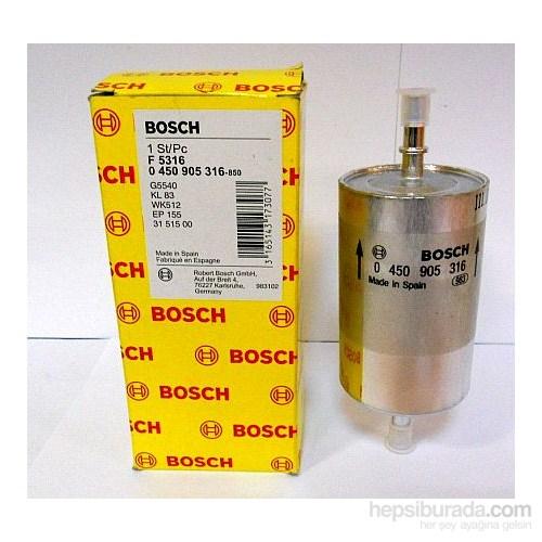 Bosch - Yakıt Filtresi Vw Golf V-Polo-Polo Classıc 1.4 16V-1.6 16V-1.4 Fsı-1.6 Fsı-2.0 Fsı-Lada Kalına 04> - Bsc 0 450 905 316