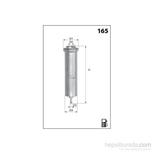 Bosch - Yakıt Filtresi 320 D 03.2005-09.2007 - Bsc F 026 402 085