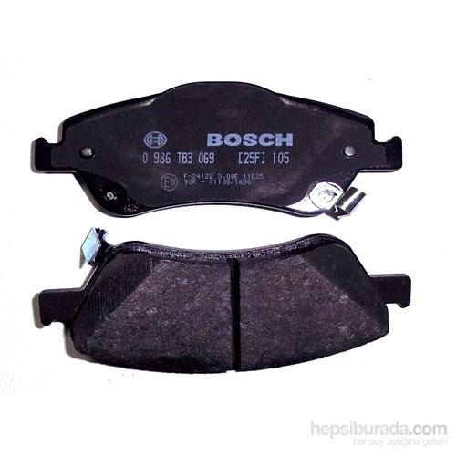 Bosch - Fren Balatası Ön Corolla 1.4 D4d Dizel 07>Aurıs 1.4 D4d Dizel 07> - Bsc 0 986 Tb3 069