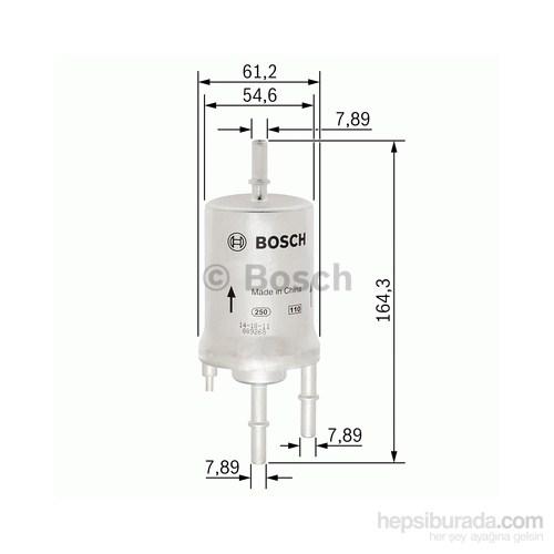 Bosch - Yakıt Filtresi Polo 1.4 04.2005-07.2007 - Bsc F 026 403 008