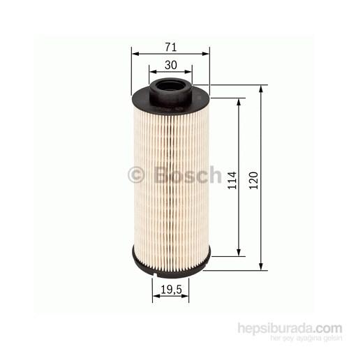 Bosch - Yakıt Filtresi Master Iı-Iıı-Movano 2.5 Dci-2.3 Dci (G9u-M9t) (03=>-10=>)-Trafic-Vivaro - Bsc 1 457 431 724