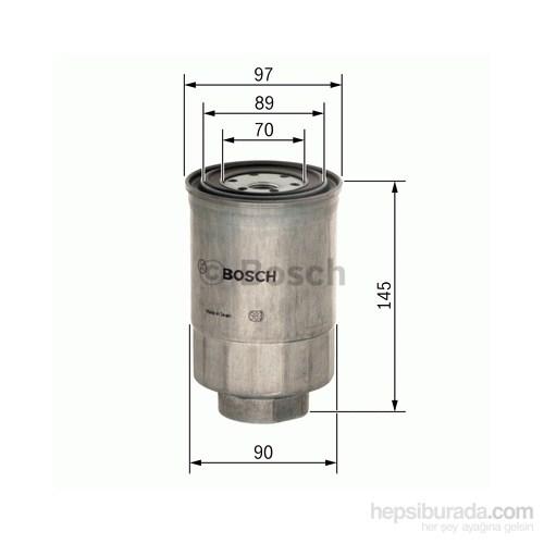 Bosch - Yakıt Filtresi Kutusu (Nissan Patrol Gr 2.8 Dıesel Turbo) - Bsc 1 457 434 281