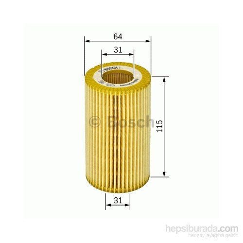 Bosch - Yağ Filtresi (Opel Frontera B 2.2 Dtı) - Bsc 1 457 437 002