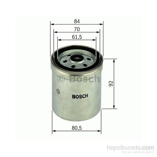 Bosch - Yakıt Filtresi Ford Taransit 2.4D (77-86) - Bsc 1 457 434 051