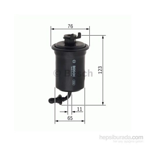 Bosch - Yakıt Filtresi (Toyota Avensis) - Bsc F 026 403 001