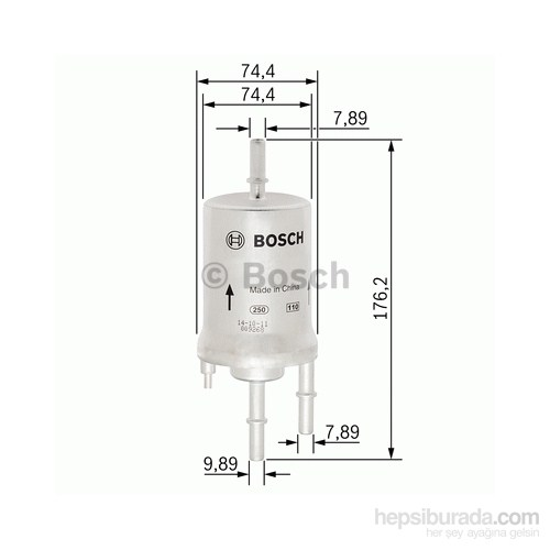Bosch - Yakıt Filtresi (Vw A6) - Bsc F 026 403 003