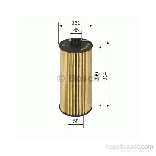 Bosch - Yağ Filtresi (Mb Actros) - Bsc 1 457 429 128