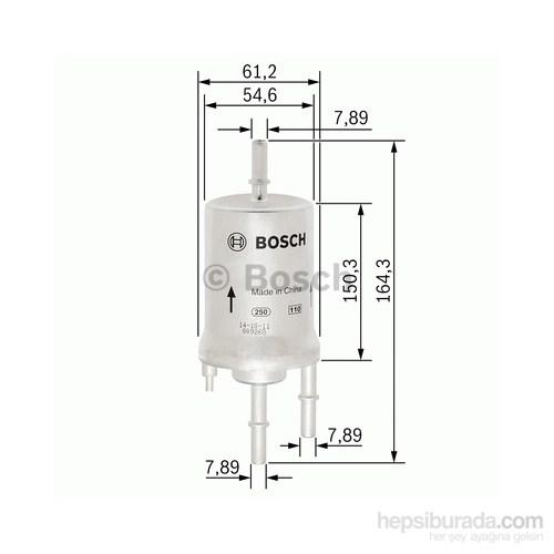 Bosch - Yakıt Filtresi A3 1.6 Sportback 09.2004-05.2005 - Bsc F 026 403 006