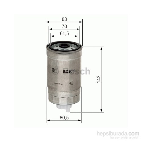 Bosch - Yakıt Filtresi Accent 1.5 Crdi 01.2002-06.2006 - Bsc 1 457 434 510