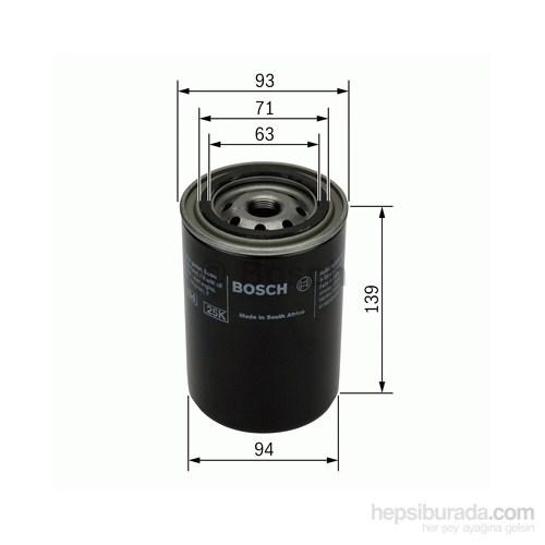 Bosch - Yağ Filtresi (Cıtroen Jumper 2.5D [02.94-02.02]) - Bsc 0 451 103 238