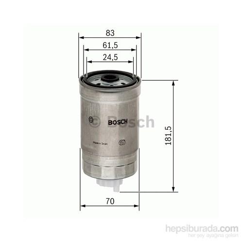Bosch - Yakıt Filtresi Audi A4 A6 Passat 1.9 Tdi 96-00 - Bsc 1 457 434 184