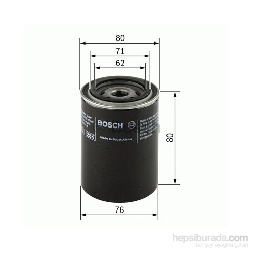 Bosch - Yağ Filtresi - Bsc F 026 407 005