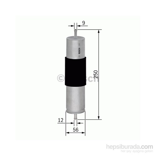 Bosch - Yakıt Filtresi A6 2.0 Tdı 10.2008-03.2012 - Bsc F 026 402 066