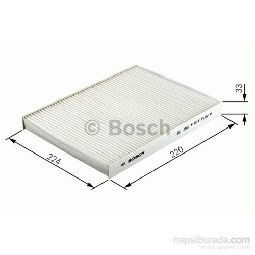 Bosch - Polen Filtresi (Citroen: Berlıngo 1.1) - Bsc 0 986 Tf0 101