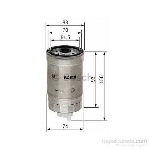 Bosch - Yakıt Filtresi Hyundai Accent 1.5 Crdi - Bsc 1 457 434 106