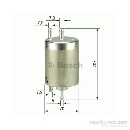 Bosch - Yakıt Filtresi (Bmw X 5) - Bsc F 026 403 000