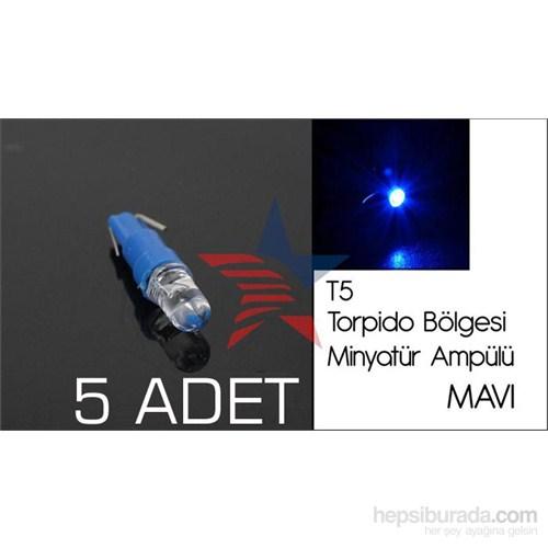 Carub MAVİ Led T5 Tip TORPİDO BÖLGESİ Ampülü