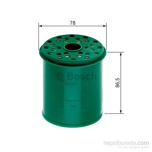 Bosch - Yakıt Filtresi Renault Clıo Megane 1.9D. - Bsc 0 986 Tf0 021