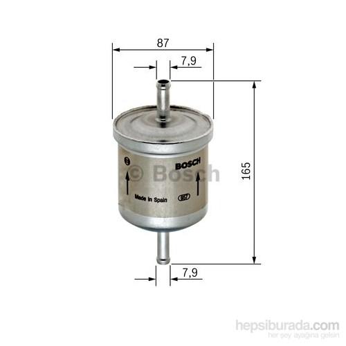 Bosch - Yakıt Filtresi (Volvo S40/ V40) - Bsc 0 450 905 921