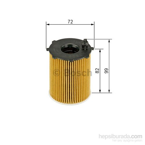 Bosch - Yağ Filtresi Cıtroen Peugeot 1.6 Hdi - Bsc 0 986 Tf0 094